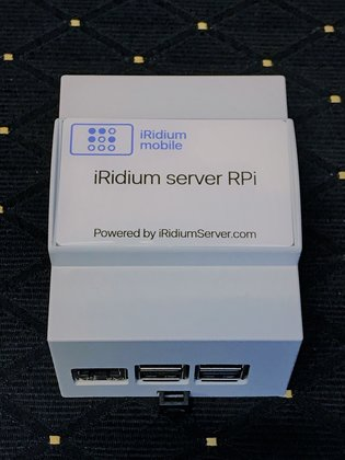 iRidium server RPi - gebaseerd op Raspberry Pi - 16Gb in DIN-rail behuizing - iRidium server lite software
